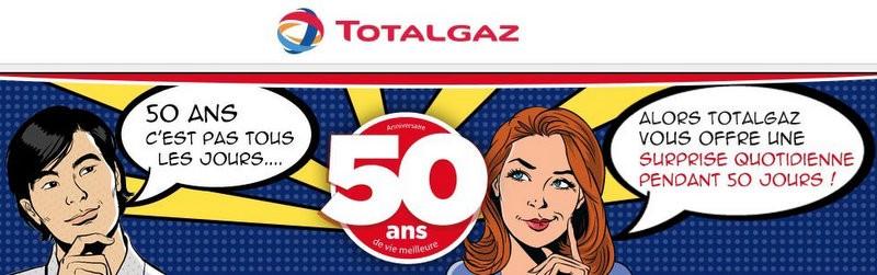 Totalgaz fête ses 50 ans !