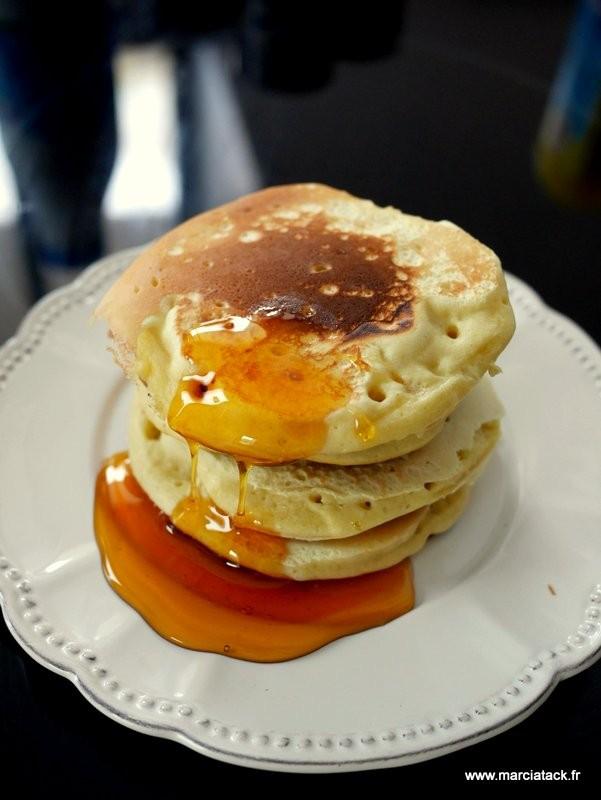 pancake moelleux et epais