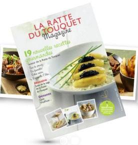 Magazine de recettes gratuits Ratte du Touquet