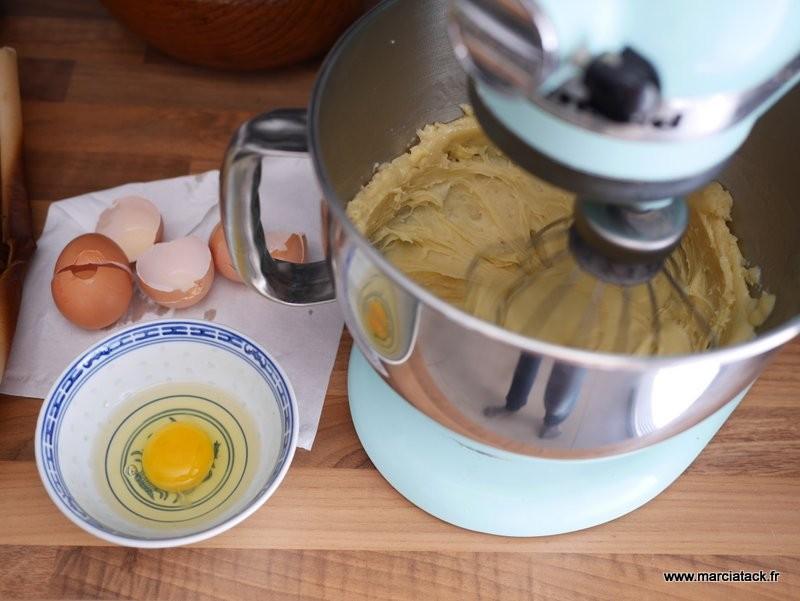 pâte à choux au kitchenaid