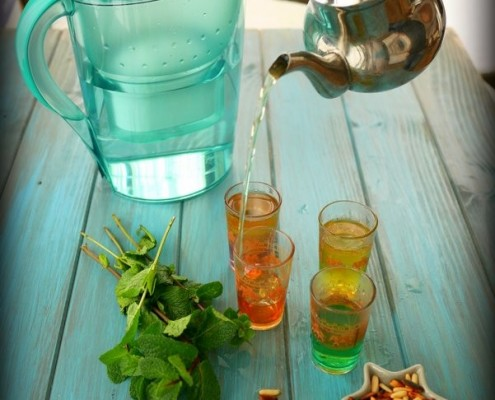 Recette du thé à la menthe
