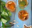 Thé à la menthe et pignons