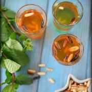 Comment faire un thé à la menthe aux pignons