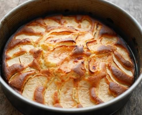 Recette de gâteau moelleux aux pommes