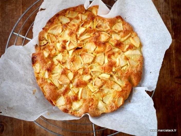 Recette de gâteau aux pommes rapide et facile