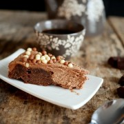 Recette du gâteau chocolat et ganache au chocolat caramel