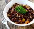 Lentilles aux carottes et à la butternut