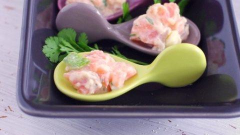 Recette facile de tartare de saumon aux pommes