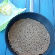 Recette facile des crepes au sarrasin ou blé noir