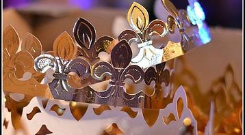 des couronnes de galettes des rois