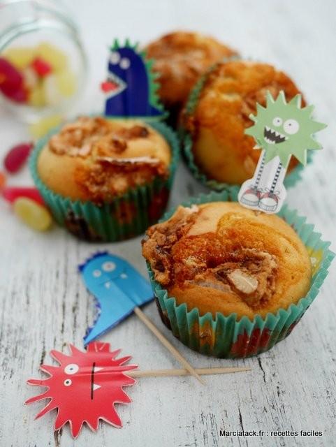 muffins nougat