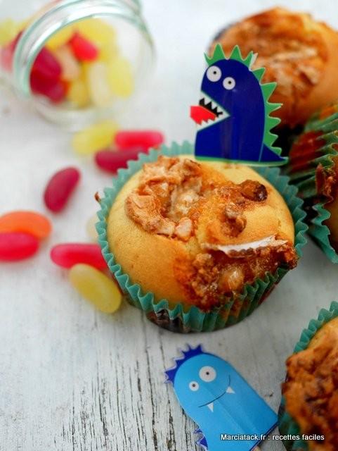 muffin au nougat