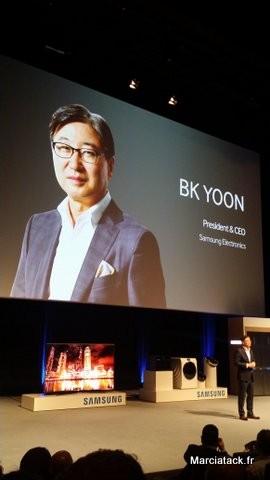 BK Yoon, Président Samsung