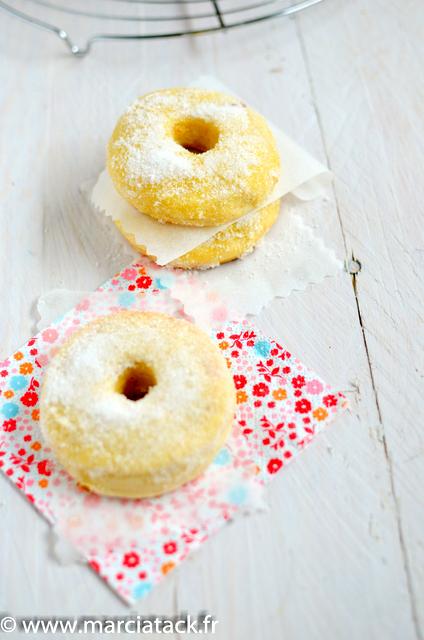 des beignets au sucre cuits sans friture