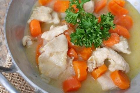 Blanquette de dinde recettes de cuisine - Comment cuisiner une blanquette de veau ...