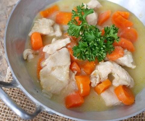 recette de la blanquette de dinde