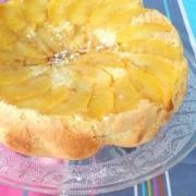 Recette facile du gâteau génoise aux pommes
