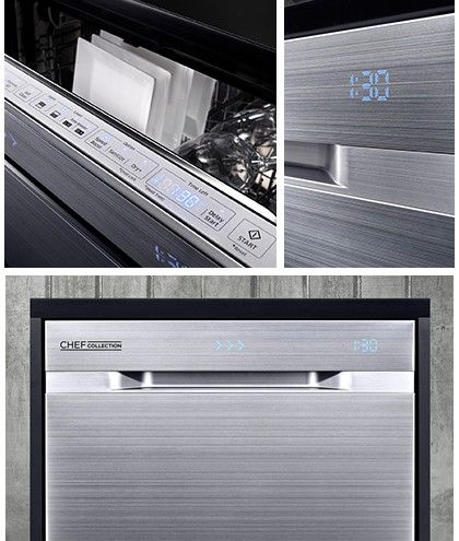 Lave vaisselle Samsung chef collection