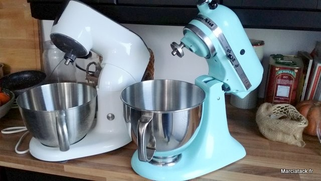 Comparaison kitchen machine de philips et kitchen aid