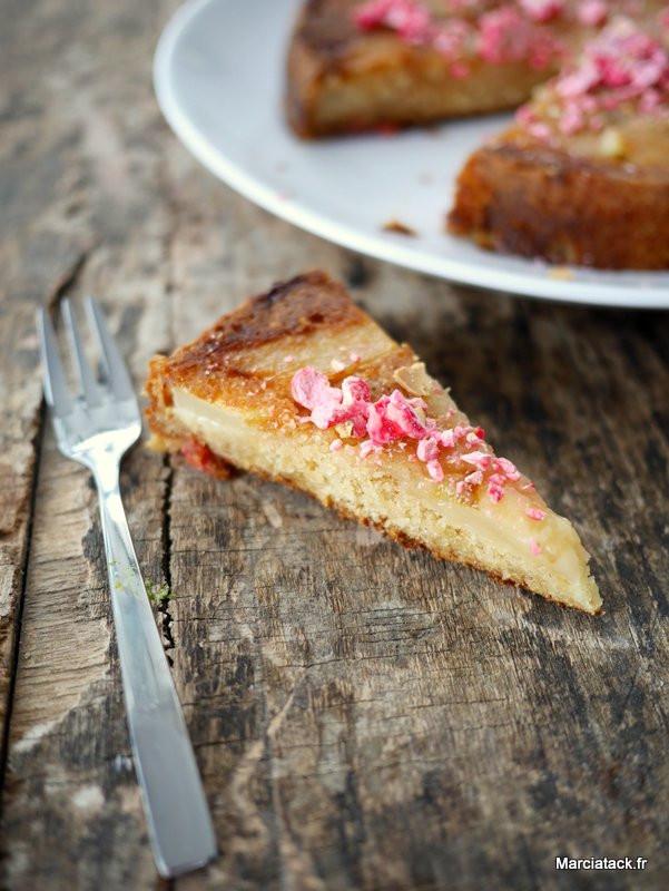 Recette facile de gâteau aux poires fondant