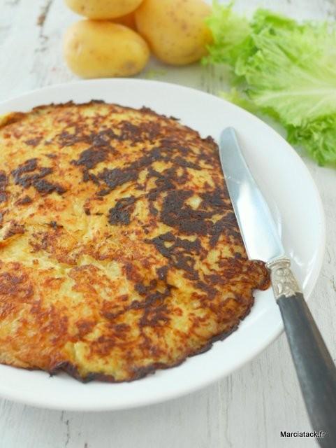 recette facile de la crique de pommes de terre