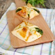 Recette épinards : feuilleté fromage de chèvre et épinards