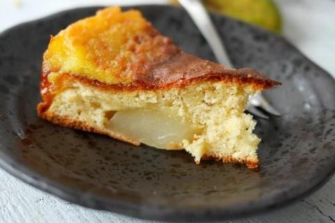 recette facile de gâteau aux poires