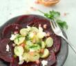 Salade betterave, Rattes et pleins de trucs gourmands !