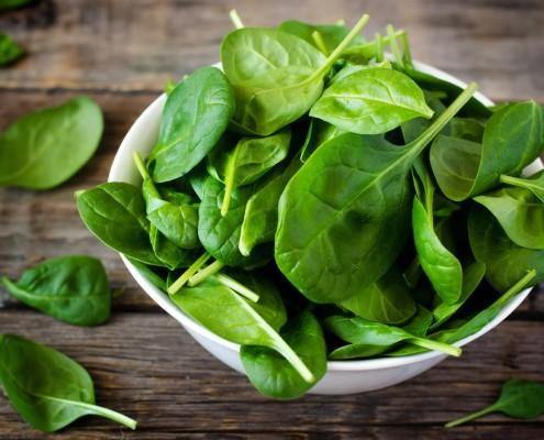 comment préparer des épinards frais ?