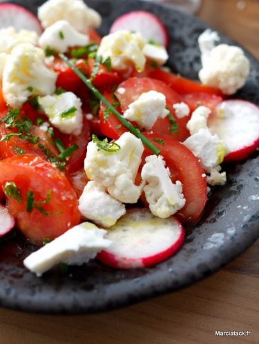 Recette de salade de tomates