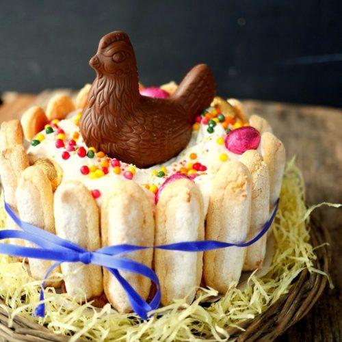 Gâteau pour menu de Pâques