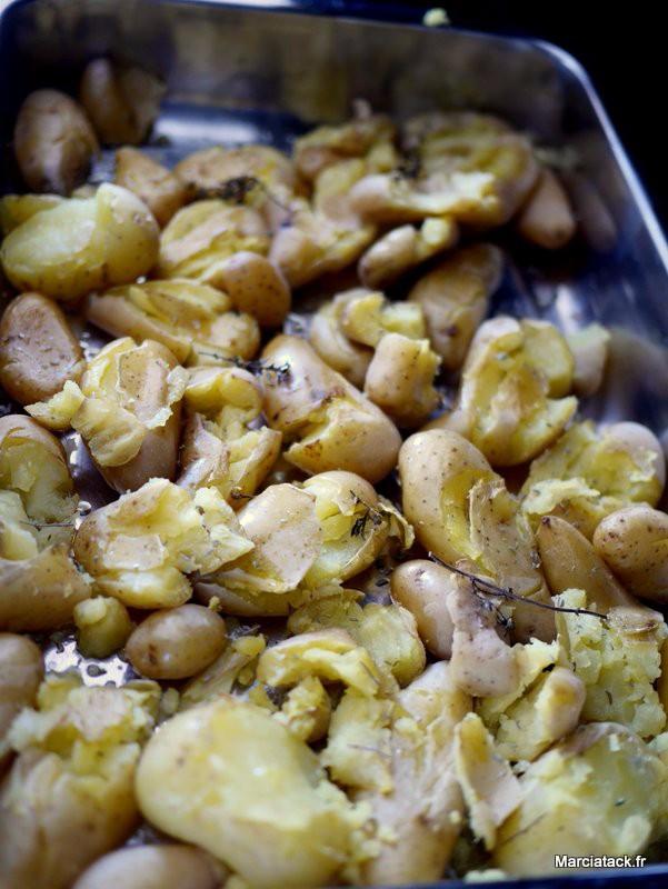 Recette facile de pommes de terre au four