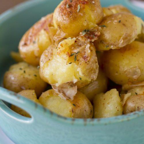 Recette de pommes de terre au four