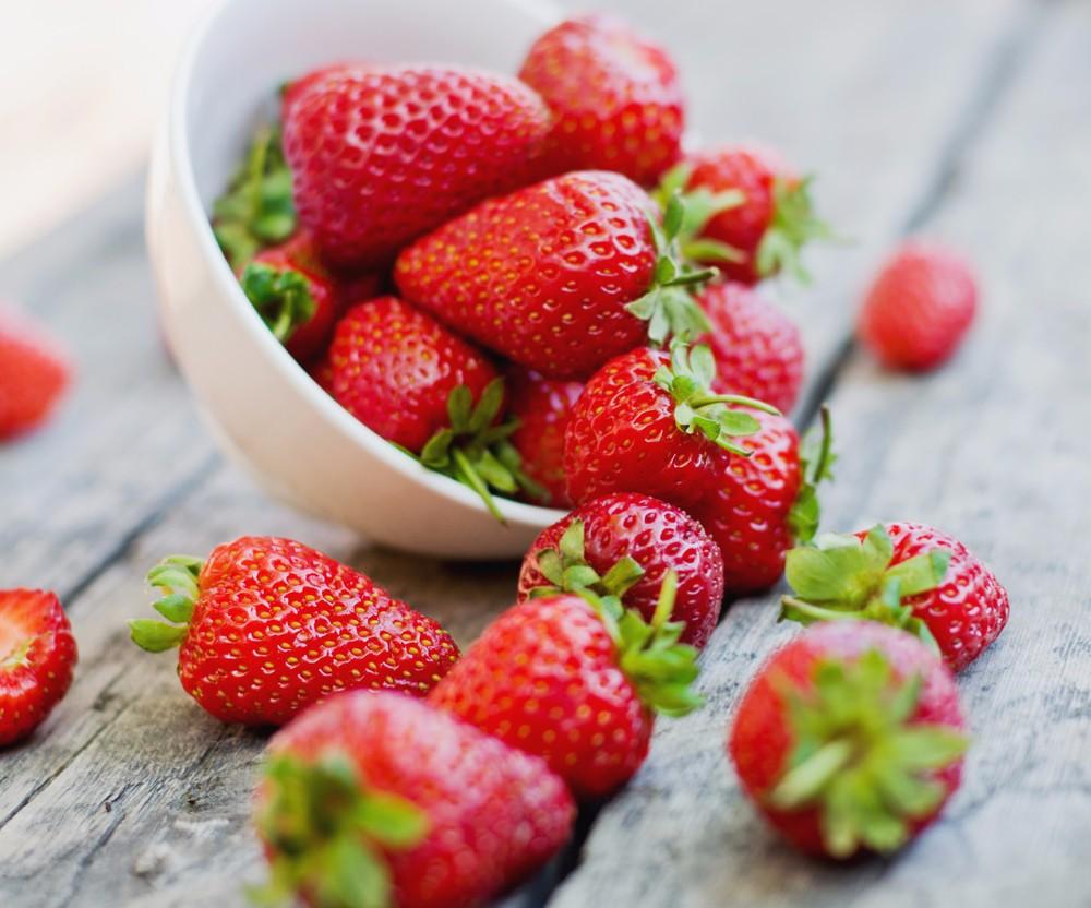 recettes de fraises