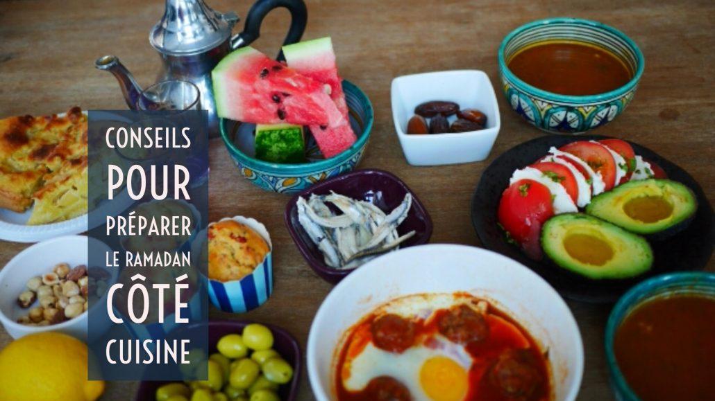 Conseils pour pr parer le ramadan 2016 en cuisine - Blog de cuisine orientale pour le ramadan ...