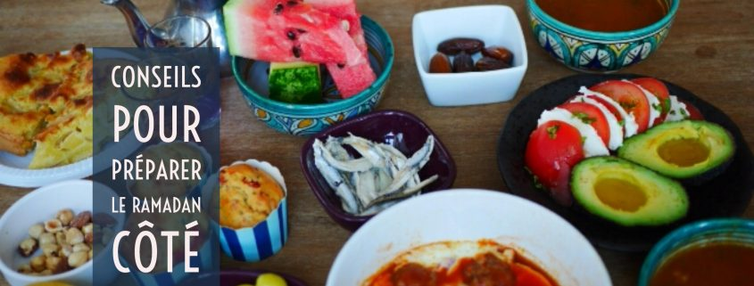 préparer le ramadan en cuisine