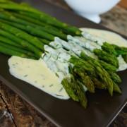 recette de sauce pour asperges vertes