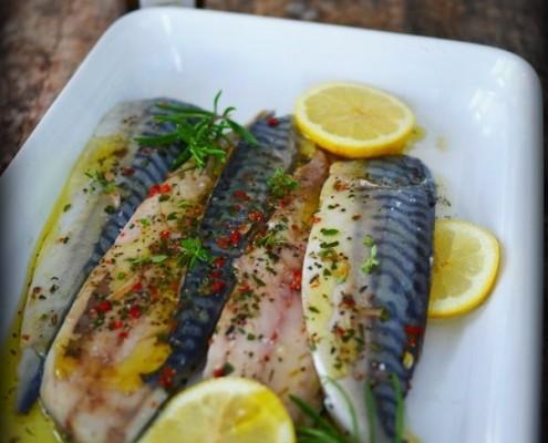 recette de filet de maquereaux marinés