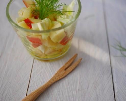 recette de salade de pomme et fenouil