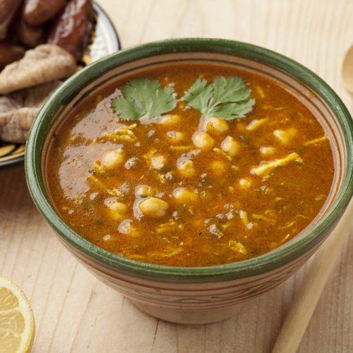 recette de harira, la soupe traditionnelle du ramadan
