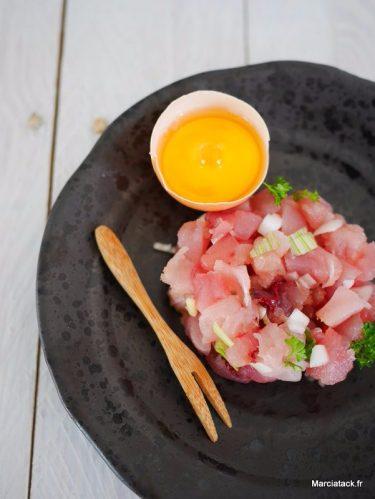 recette rapide de tartare de thon