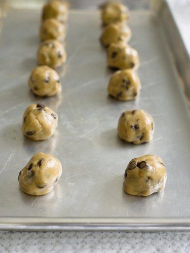 congeler la pâte à cookies