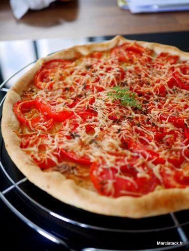 recette vraie tarte à la tomate