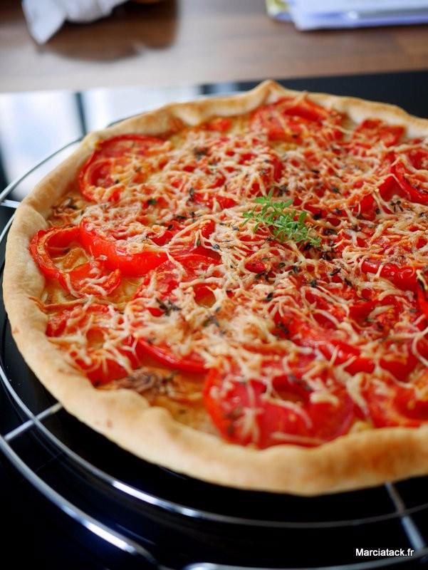 Recette De La Vraie Tarte A La Tomate