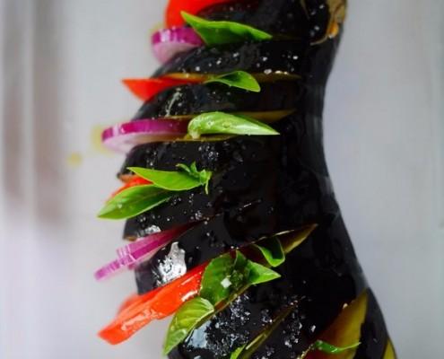 aubergines au four, recette facile