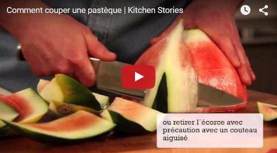 astuces pour découper simplement une pastèque