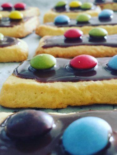 recette de biscuits aux m&m's