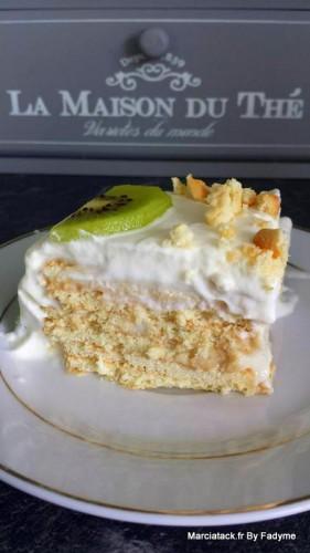 Gâteau facile aux kiwis