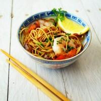 recette de soupe de crevettes et lait de coco
