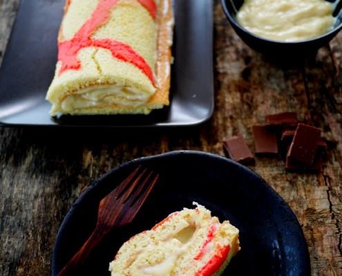 recette tupperware gâteau génoise à motif